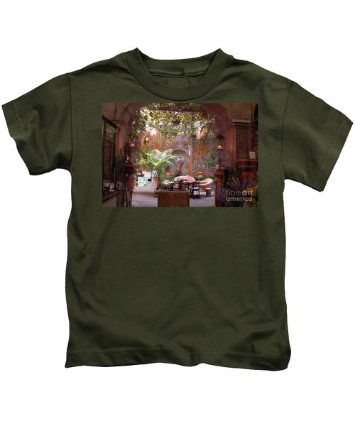 Artists' Studio In Sorrento Italy  Kids T-Shirt