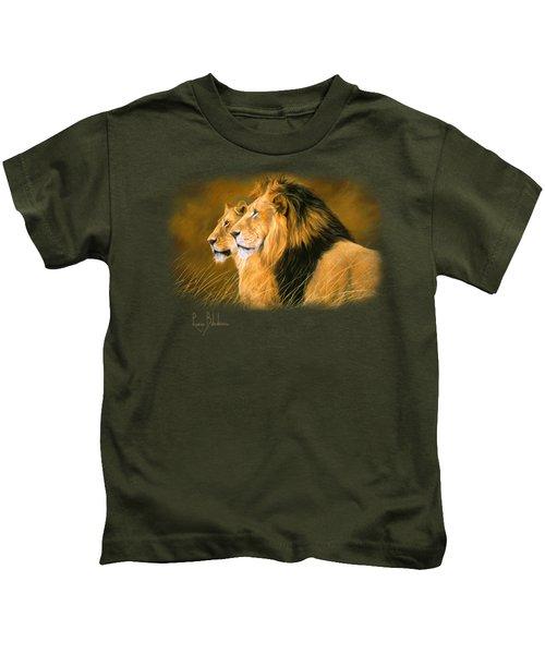 Side By Side Kids T-Shirt