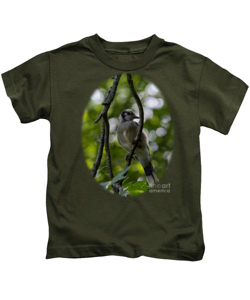 Afternoon Perch Kids T-Shirt by Brian Manfra