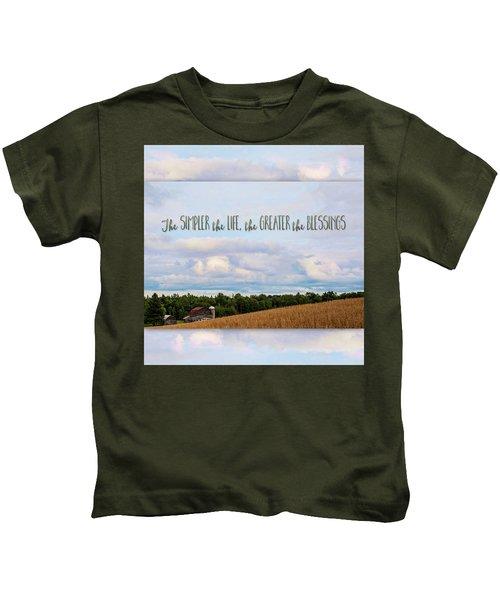The Simpler Life Kids T-Shirt