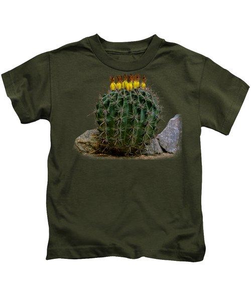 Barrel Against Wall No50 Kids T-Shirt