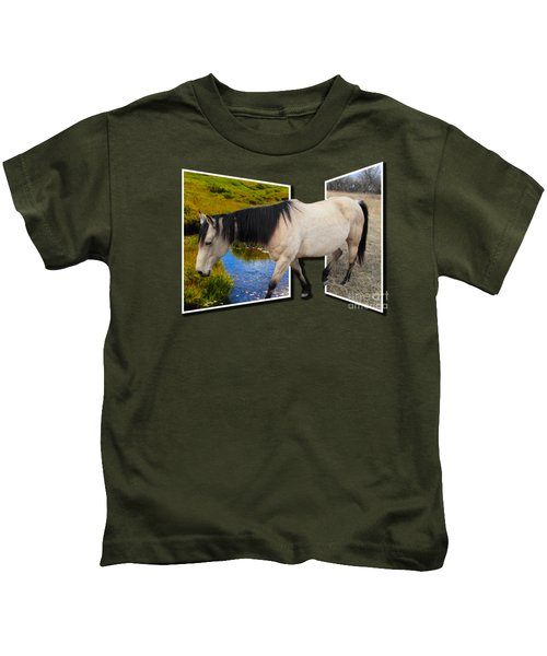 The Grass Is Always Greener On The Other Side Kids T-Shirt