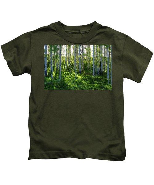 Aspen Morning 1 Kids T-Shirt