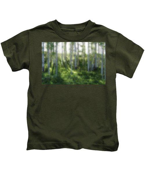 Aspen Morning 2 Kids T-Shirt