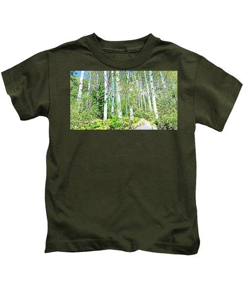 Aspen Splender Steamboat Springs Kids T-Shirt