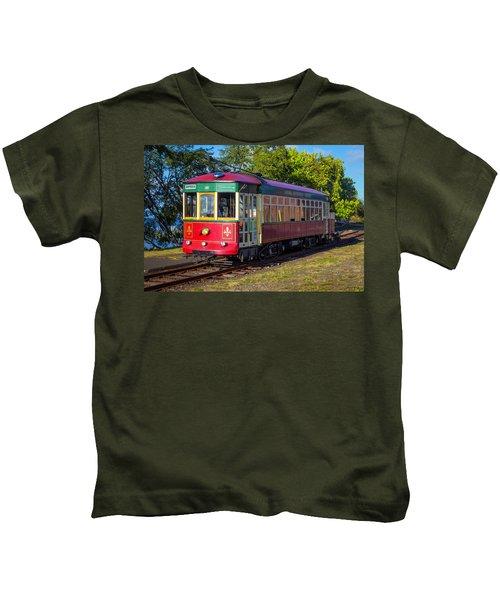 Astoria Riverfront Trolly Kids T-Shirt