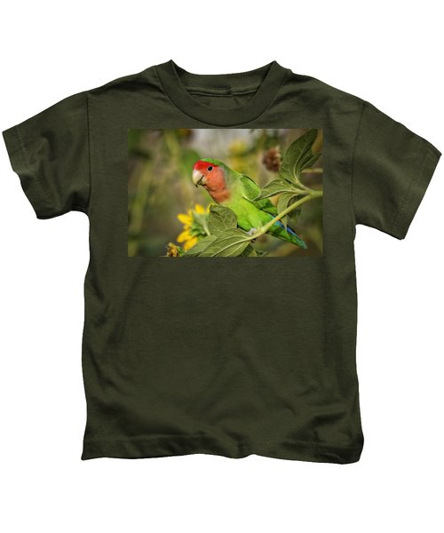 At The End Of The Rainbow  Kids T-Shirt by Saija  Lehtonen