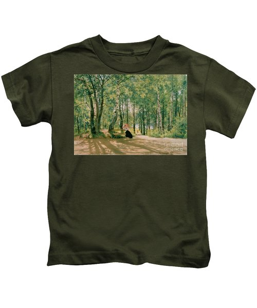 At The Summer Cottage Kids T-Shirt