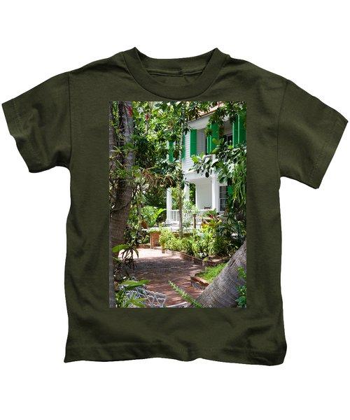 Audubon House Entranceway Kids T-Shirt