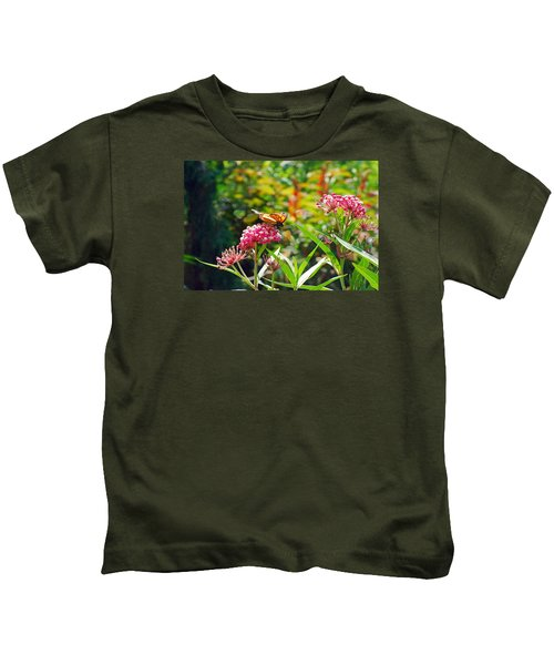 August Monarch Kids T-Shirt