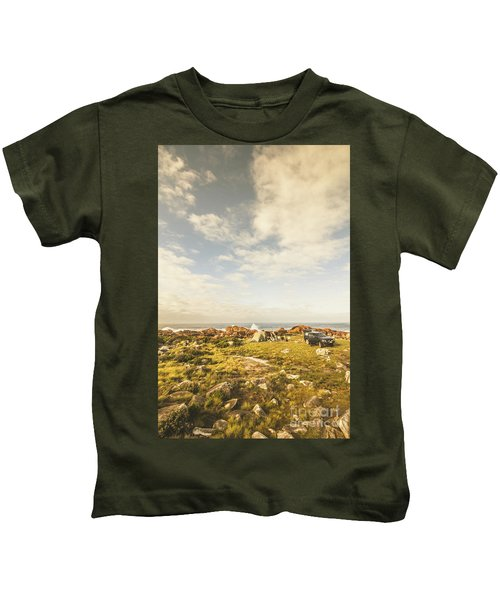 Australian Exploration Kids T-Shirt