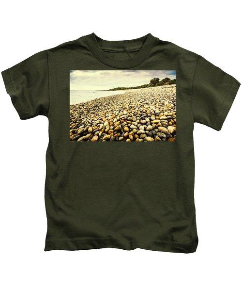 Australian Rocky Shoreline Kids T-Shirt