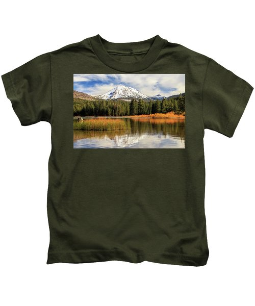 Autumn At Mount Lassen Kids T-Shirt