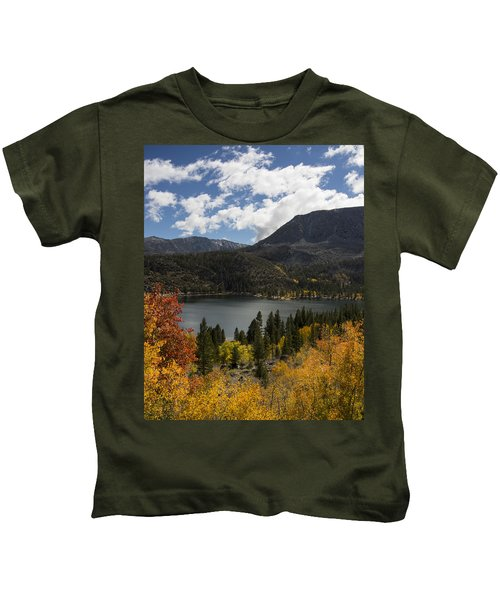 Autumn At Rock Creek Lake 2 Kids T-Shirt