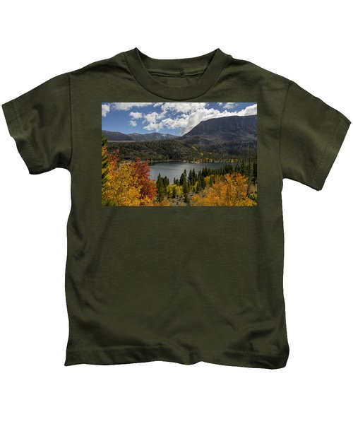 Autumn At Rock Creek Lake Kids T-Shirt