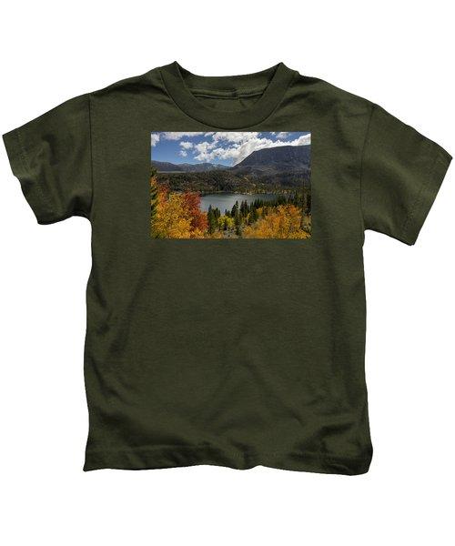 Autumn At Rock Creek Lake Kids T-Shirt