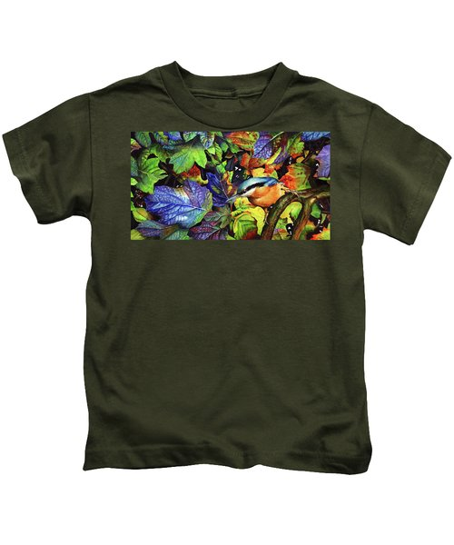 Autumn Blues 2 Kids T-Shirt