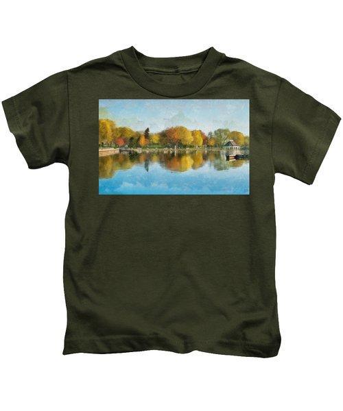 Autumn Blues Kids T-Shirt
