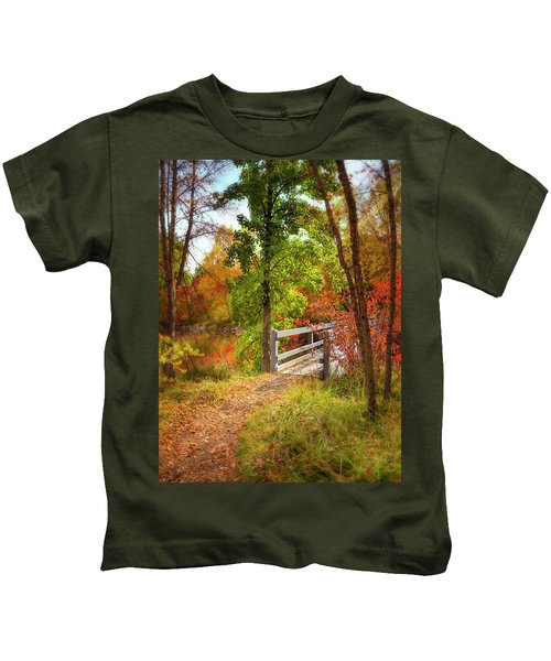Autumn Bridge Kids T-Shirt