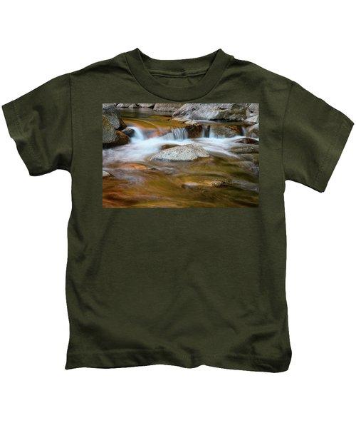 Autumn Cascade Nh Kids T-Shirt