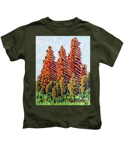 Autumn Christmas Kids T-Shirt