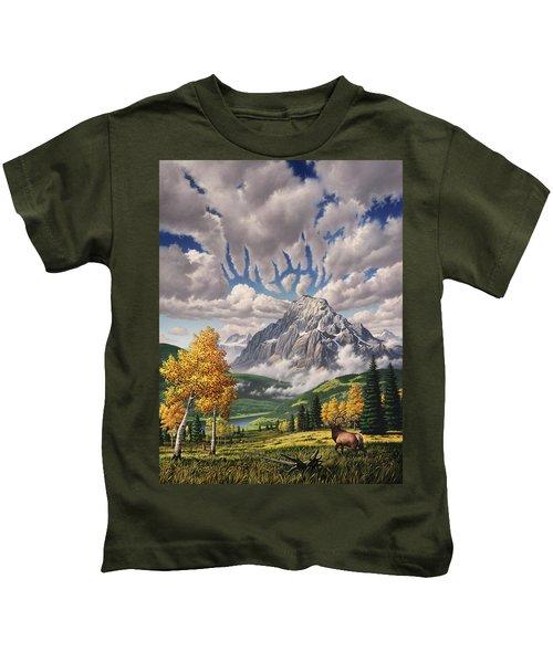 Autumn Echos Kids T-Shirt