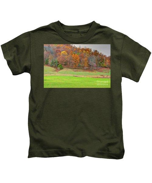Autumn Hillside Kids T-Shirt