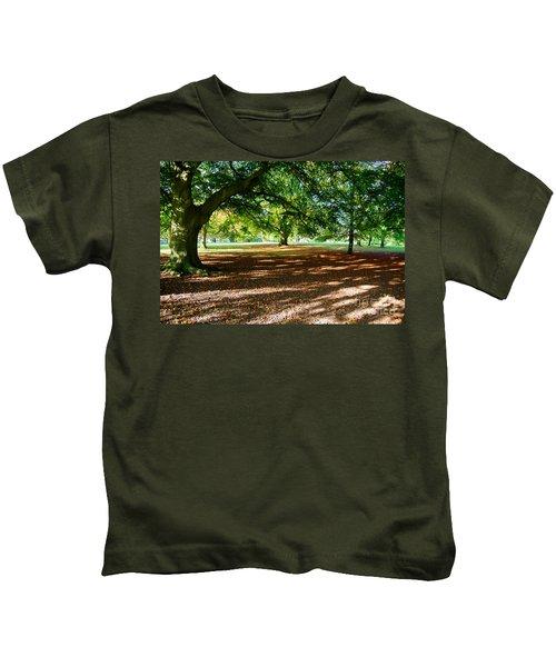 Autumn In The Park Kids T-Shirt