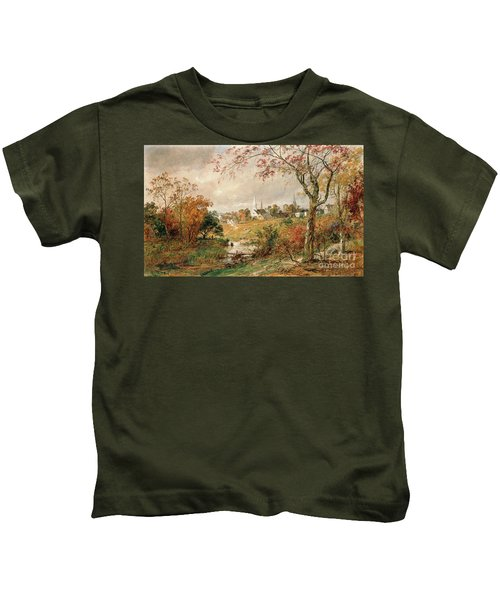 Autumn Landscape Kids T-Shirt