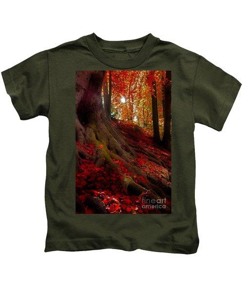 Autumn Light Kids T-Shirt
