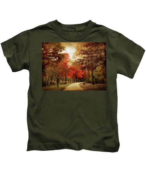 Autumn Maples Kids T-Shirt
