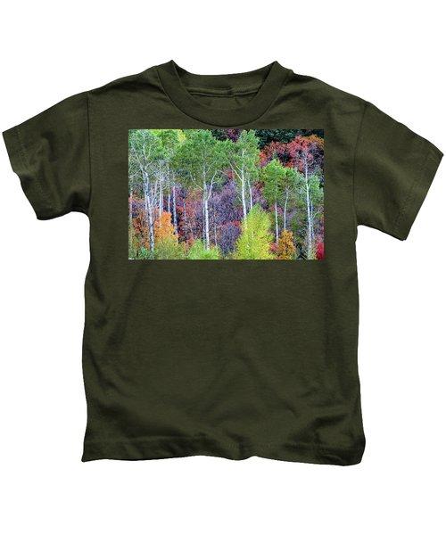 Autumn Mix Kids T-Shirt
