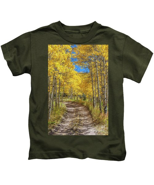 Autumn On Medano Pass Kids T-Shirt