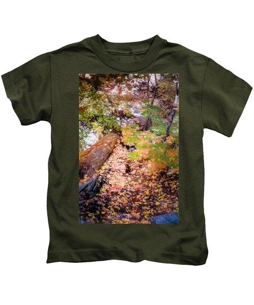 Autumn On The Mountain Kids T-Shirt