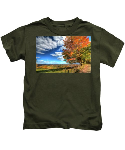 Autumn On The Windfall Kids T-Shirt
