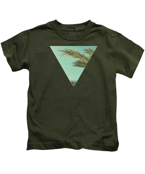 Autumn Palms II Kids T-Shirt