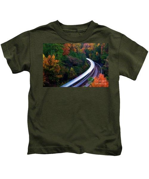 Autumn Rails Kids T-Shirt