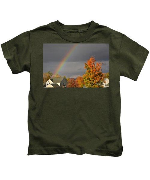Autumn Rainbow Kids T-Shirt