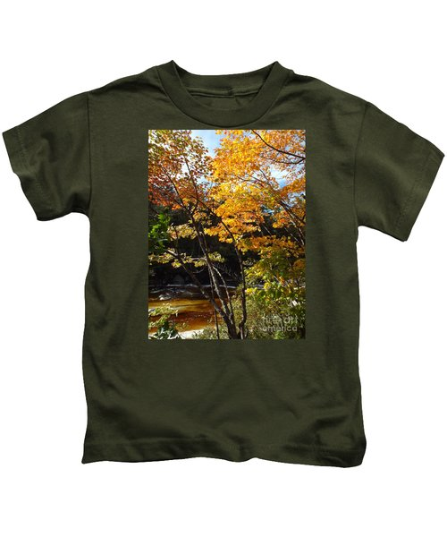 Autumn River Kids T-Shirt