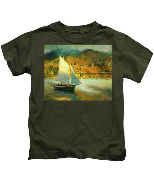 Autumn Sail Kids T-Shirt