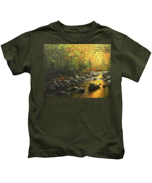 Autumn Stream Kids T-Shirt