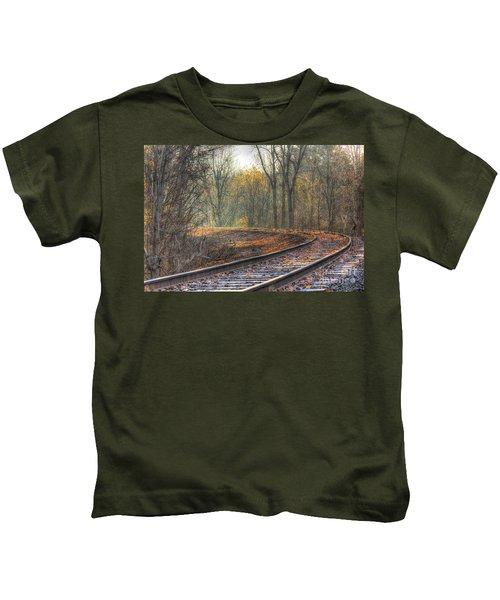 Autumn Tracks Kids T-Shirt