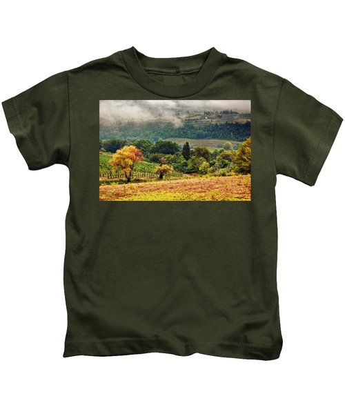 Autumnal Hills Kids T-Shirt