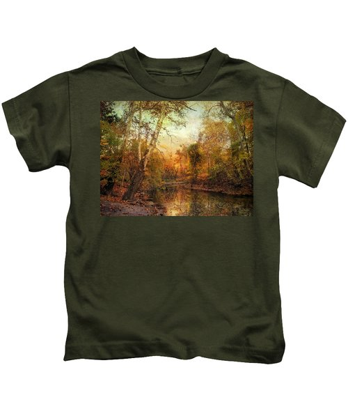 Autumnal Tones Kids T-Shirt
