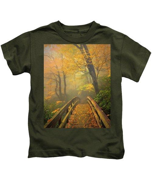 Autumn's Bridge To Heaven Kids T-Shirt