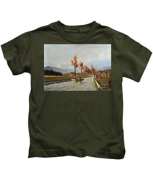 Avellino's Landscape  Kids T-Shirt