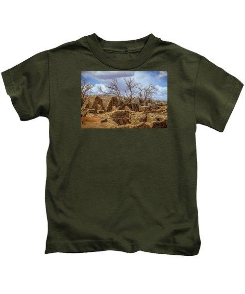 Aztec Ruins, New Mexico Kids T-Shirt