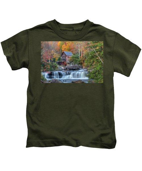 Babcock Grist Mill  II Kids T-Shirt