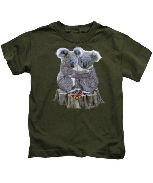 Baby Koala Huggies Kids T-Shirt