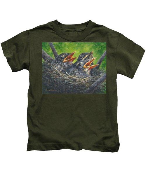 Baby Robins Kids T-Shirt